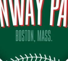 Fenway Park Sticker
