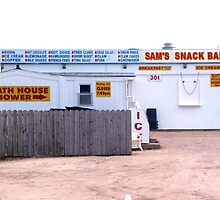 sam's snack shack by Maureen Zaharie