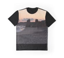 Martha's Vineyard, Lucy Vincent Beach Sunset Graphic T-Shirt