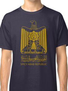 Spicy Arab Republic - Coat of Arms Classic T-Shirt