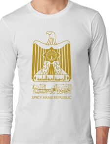 Spicy Arab Republic - Coat of Arms Long Sleeve T-Shirt