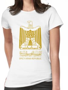 Spicy Arab Republic - Coat of Arms Womens Fitted T-Shirt