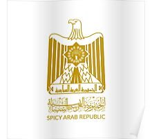 Spicy Arab Republic - Coat of Arms Poster