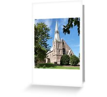St. Paul's Lutheran Church, Hahndorf, Adelaide Hills. S. Aust. Greeting Card