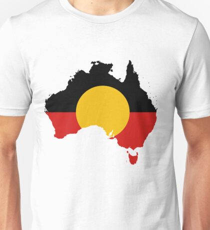 Aboriginal Flag - Australian Native Cool Unisex T-Shirt