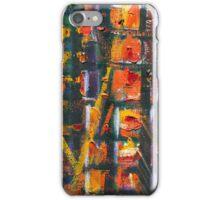 Urban Sunset | Oil Painting {Detail} iPhone Case/Skin