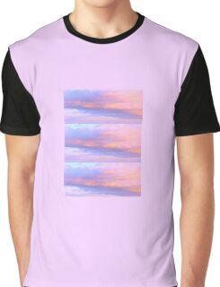 Vaporwave Clouds Graphic T-Shirt