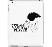 Typical Yasuo Player iPad Case/Skin