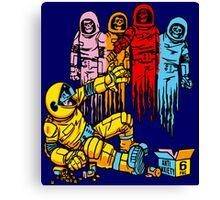 Horror Arcade - Pacman Canvas Print