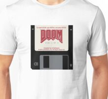 Doom floppy disk Unisex T-Shirt