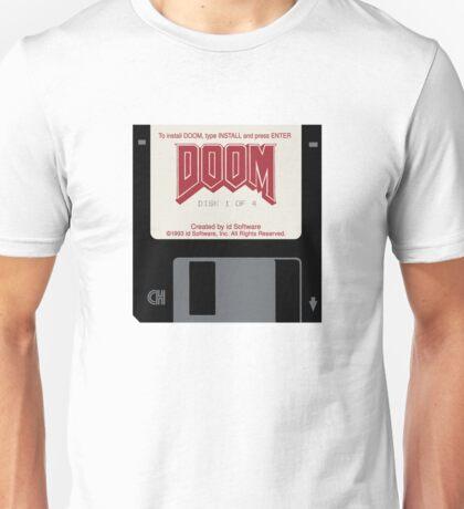 Doom floppy disk Unisex T-Shirt