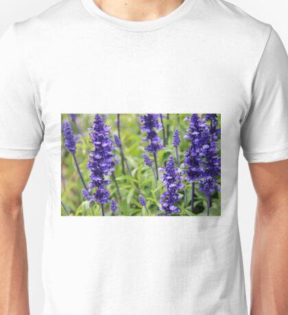 Mystic Spires Blue Unisex T-Shirt