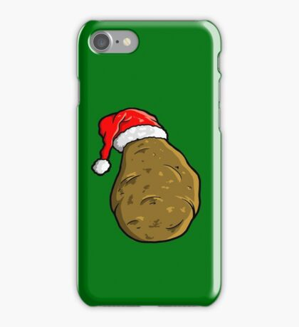 christmas potato iPhone Case/Skin