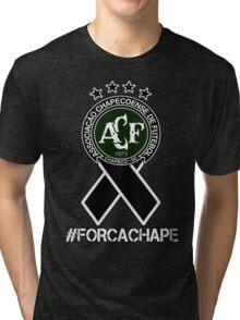 Chapecoense - Forca Chape Tri-blend T-Shirt