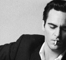 "Joaquin Phoenix Johnny Cash ""Walk the Line"" Sticker"