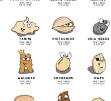 Vegan Protein Sources Sticker