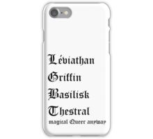 LGBT Magical Queer iPhone Case/Skin