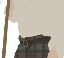 Jamie Fraser I - Outlander Sticker