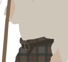Jamie Fraser I - Outlander Sticker