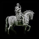 Equestrian Statue of Cosimo I - Cutout by Dave Martin