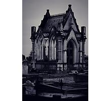 Gothic Crypt. Photographic Print
