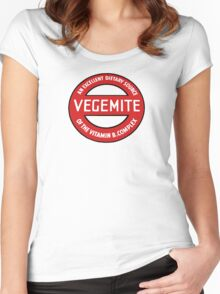 Vintage Vegemite Women's Fitted Scoop T-Shirt
