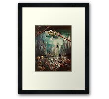 Forest Rescue Framed Print
