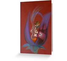 Elfe fantastic pastel sec 2 Greeting Card