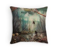 Forest Rescue Throw Pillow