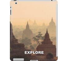 Explore Bagan iPad Case/Skin