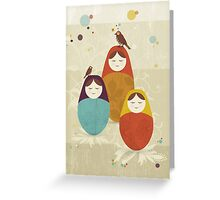 Matriochka Greeting Card