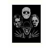 Horror Rhapsody Art Print
