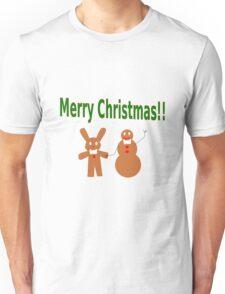 Gingerbread Friends Unisex T-Shirt