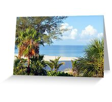 Tropical Morning Greeting Card