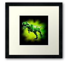 Tyrannosaurus Rex Design 1 Framed Print