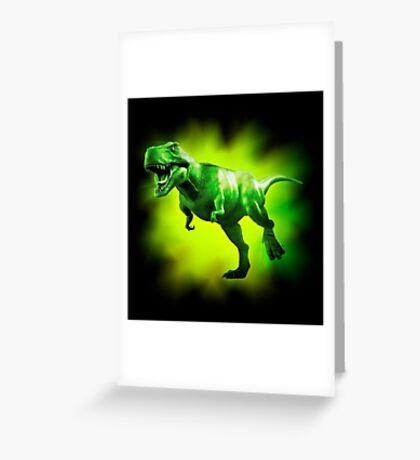 Tyrannosaurus Rex Design 1 Greeting Card