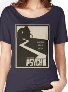 Psycho Movie Poster - Beige Version Women's Relaxed Fit T-Shirt