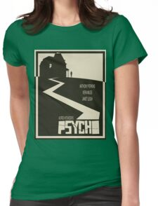 Psycho Movie Poster - Beige Version Womens Fitted T-Shirt