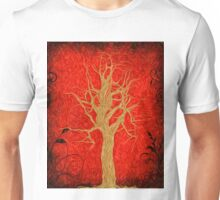 Abstract Tree Oil Painting Unisex T-Shirt