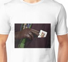 Here's my card Unisex T-Shirt