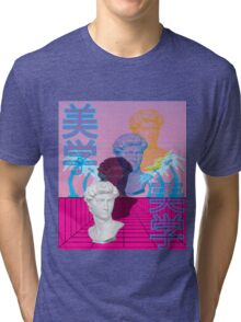 Perspective Vaporwave Tri-blend T-Shirt