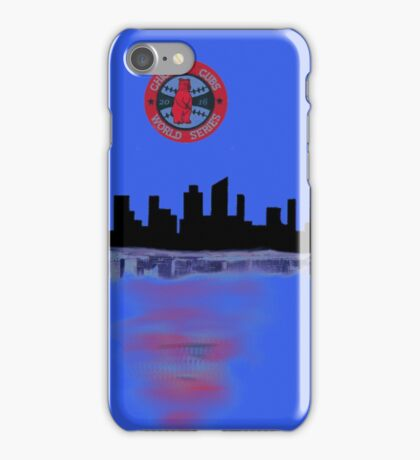 2016 chicago cubs world series winners iPhone Case/Skin