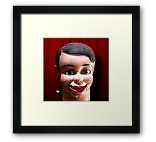 Self Confident Turnaround Artist Framed Print