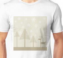 Deer in wood2 Unisex T-Shirt