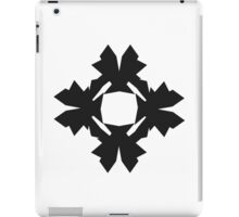 Jagged Flake iPad Case/Skin