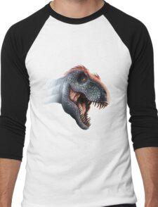 Tyrannosaurus Rex Design 4 Men's Baseball ¾ T-Shirt