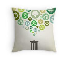 Ecology Throw Pillow