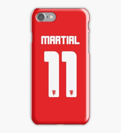 Anthony Martial - No.11 Phone Case iPhone Case/Skin