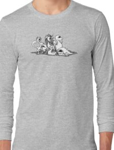 The Quarks: Particle Critters Long Sleeve T-Shirt
