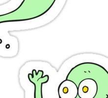 cartoon ghosts Sticker